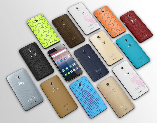 Alcatel OneTouch Idol 3C, OneTouch Pop Star and OneTouch Pop Up are presented