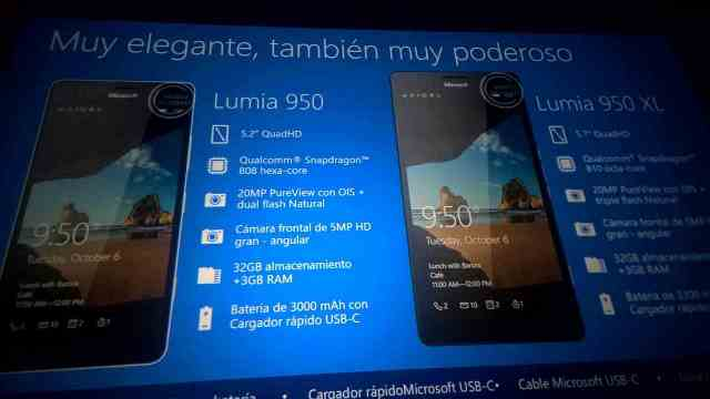 Microsoft Lumia 950, Lumia 950 XL and Lumia 550 were spotted in leaks