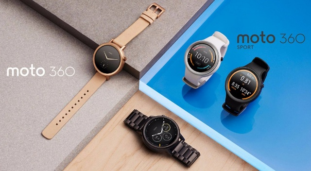Motorola Moto 360 (2015) and Moto 360 Sport are revealed