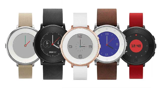 Pebble Introduced the Pebble Time Round Smartwatch