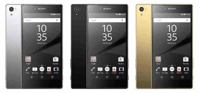 Sony Xperia Z5 Premium and Xperia Z5 Compact are announced
