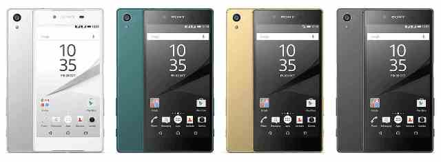 IFA 2015 News: Sony Presents Three Sony Xperia Z5 Variants Part 1