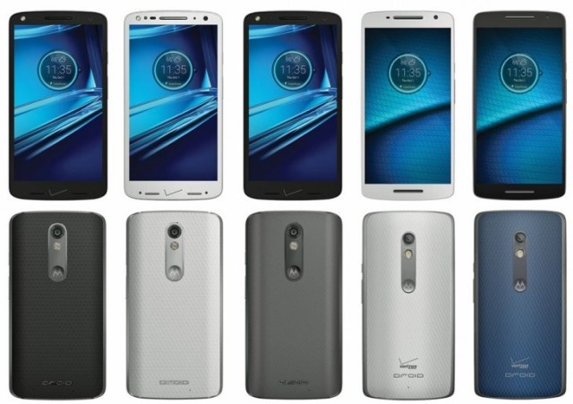 Motorola Droid Turbo 2 and Droid Maxx 2 appeared in a leak