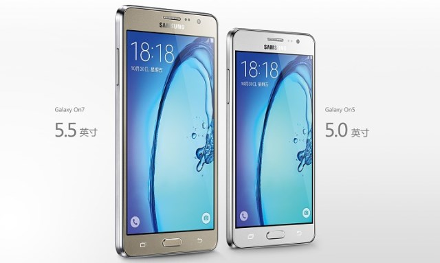 Samsung Galaxy On5 and Galaxy On7 are the new affordable smartphones