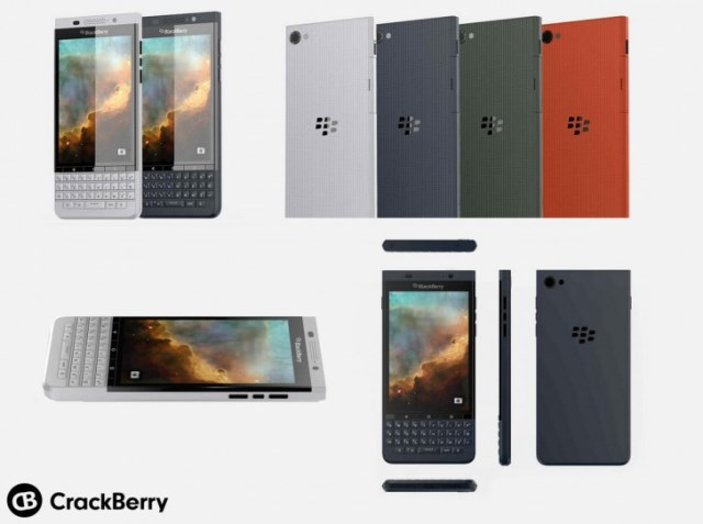 BlackBerry Vienna Shows Up in Renders
