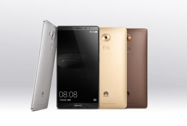 Huawei Mate 8 is presented officially