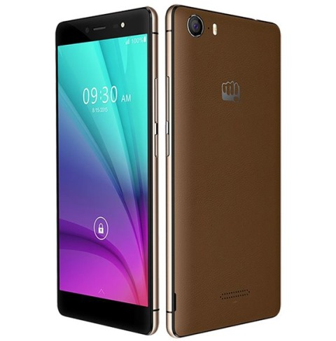 Micromax Canvas 5 is unveiled