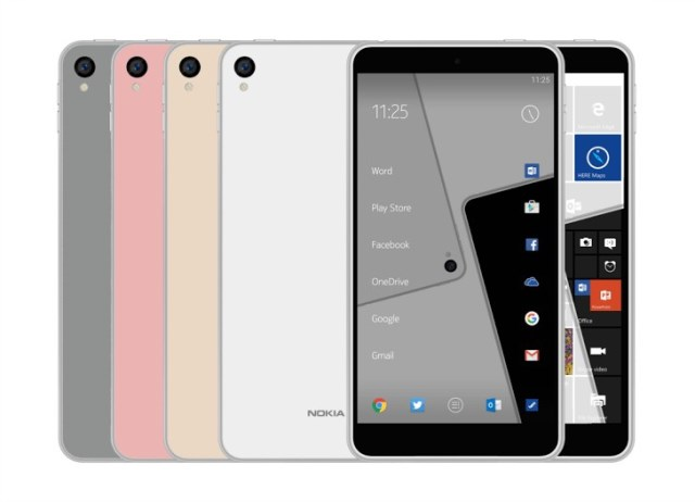 Nokia C1 was caught on camera in render photos
