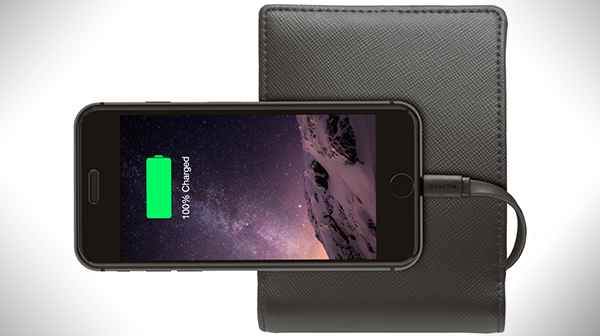 Nomad Wallet is Packed with a 2400mAh Battery