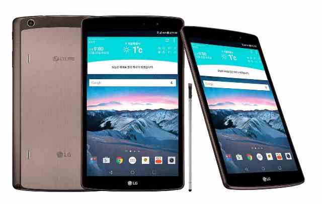 LG Unveiled LG G Pad II 8.3 LTE in South Korea