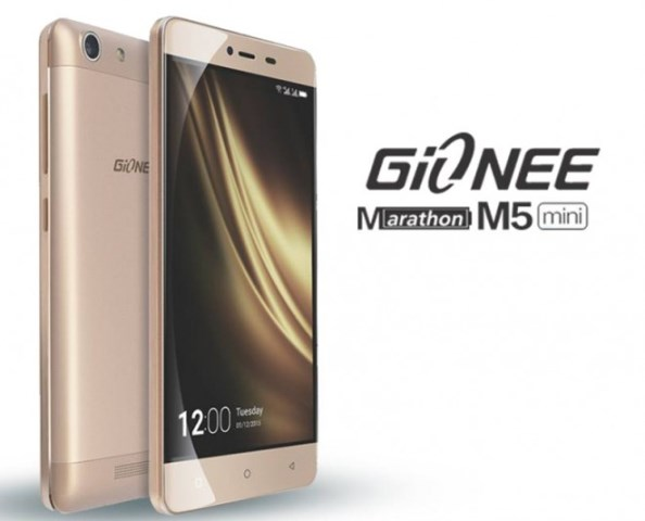 Gionee Marathon M5 mini is announced in Nigeria with 4000mAh battery