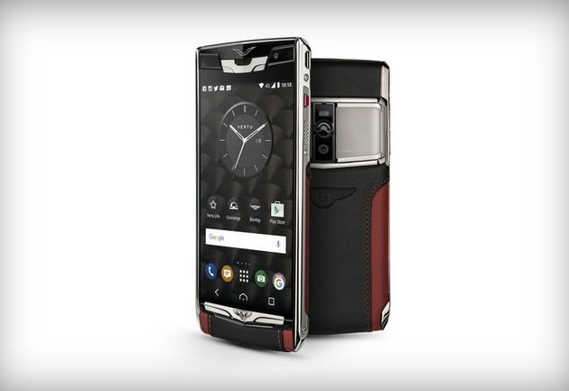 Vertu Signature Touch for Bentley with a premium design is unveiled