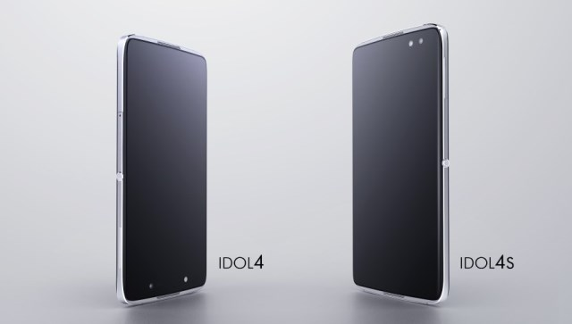 Alcatel Idol 4 and Idol 4S are presented at MWC 2016