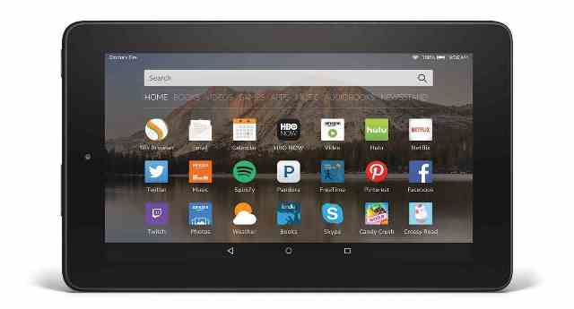 Amazon Fire tablet with 7-inch display can be purchased for $40