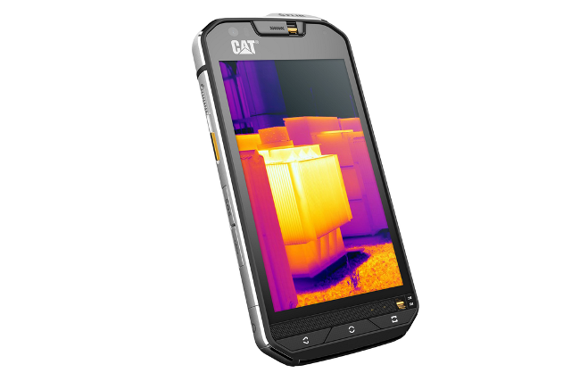 CAT S60 is unveiled with a thermal camera on board