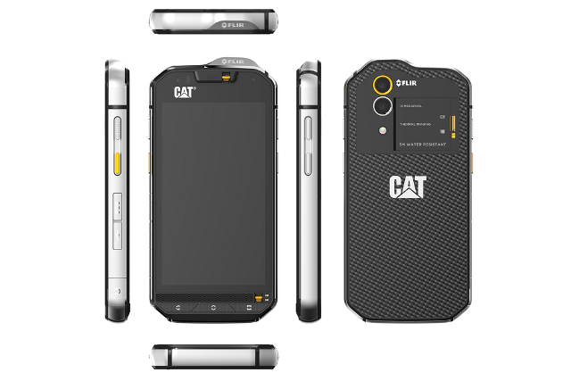 CAT S60 is official, boasts an integrated thermal camera
