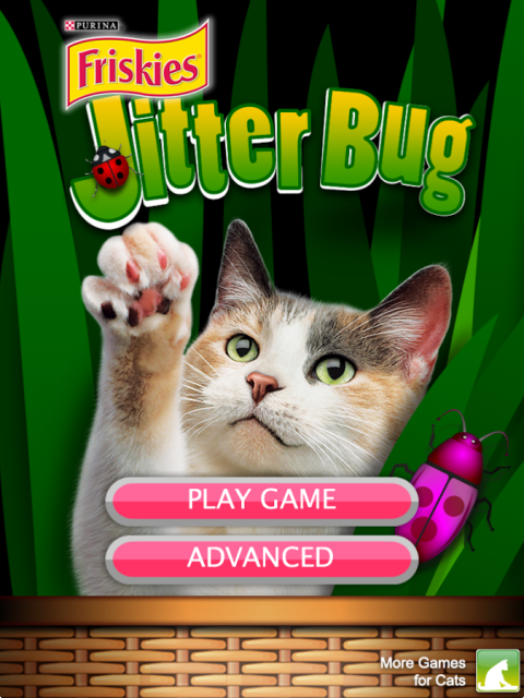 JitterBug app for cats