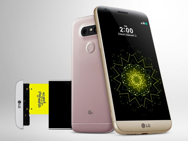 LG G5 is official