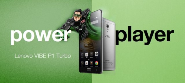 Lenovo P1 Turbo is revealed