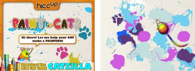 Paint for Cats app for iPhone and iPad