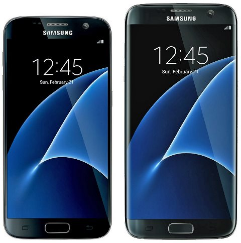 Samsung Galaxy S7 and Galaxy S7 edge are posing for the camera in new renders