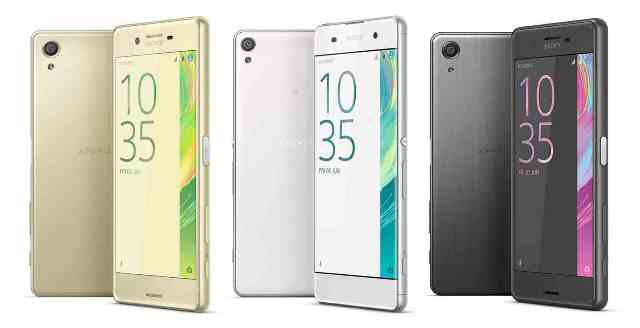 Sony Xperia X Performance, Xperia X and Xperia XA are announced