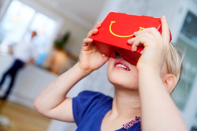 McDonalds is Turning Happy Meal's Boxes into Happy Goggles VR Gear