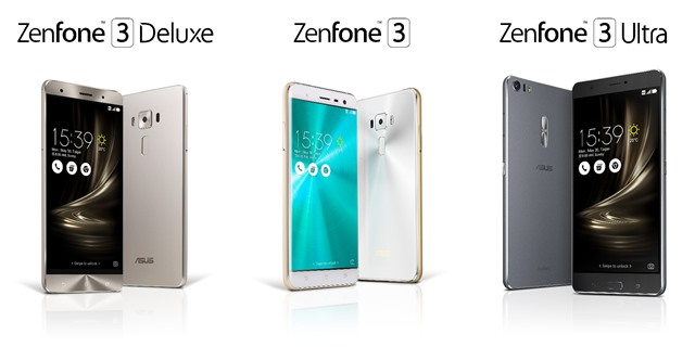 ASUS ZenFone 3 with three new handsets at Computex 2016