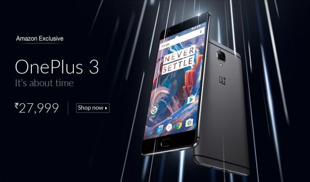 OnePlus 3 is official